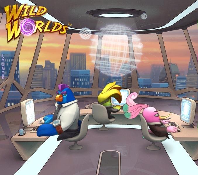 Play Wild Worlds NetEnt Free Slot Machine